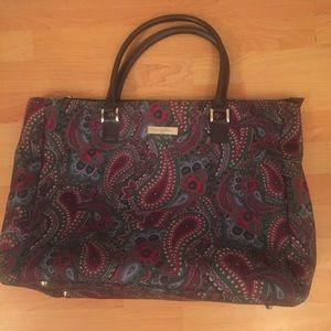 Handbags - Anne Klein Weekender Bag w Laptop Compartment